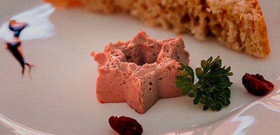 Ponuda restorana Gradina - pašteta od divljači