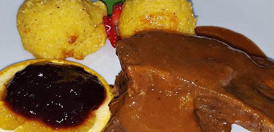 Ponuda restorana Gradina - jela od divljači
